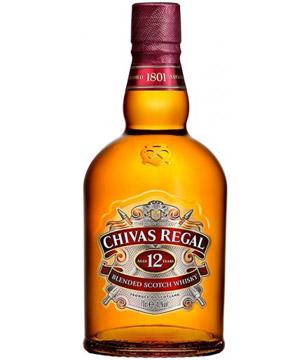10. Whisky Chivas Regal